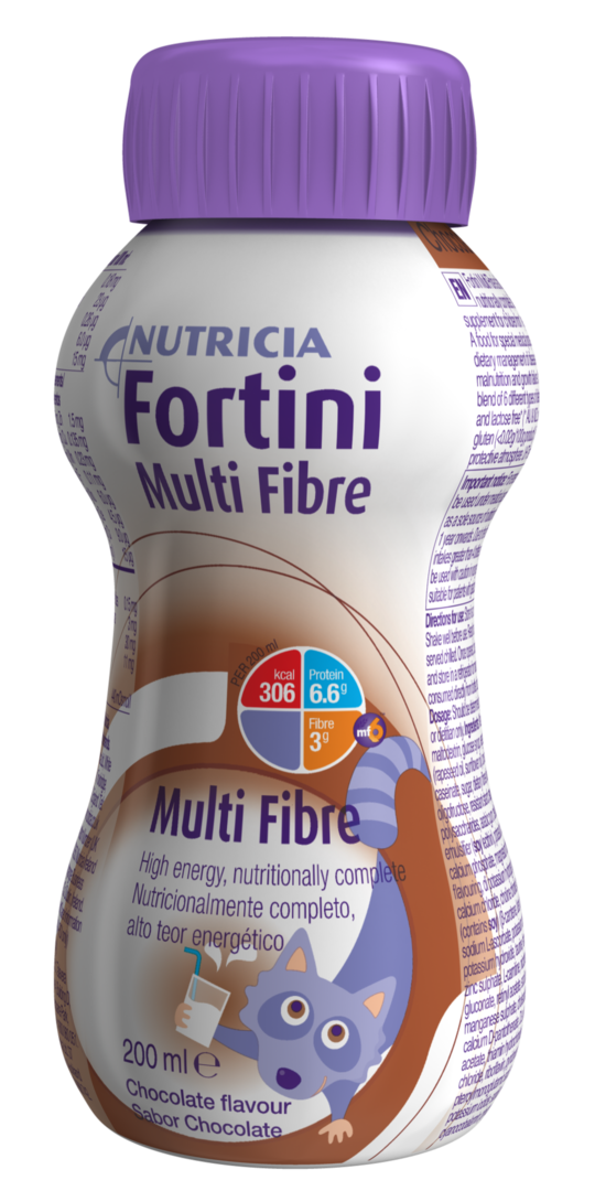 Fortini Multi Fibre 200 ml Kaakao