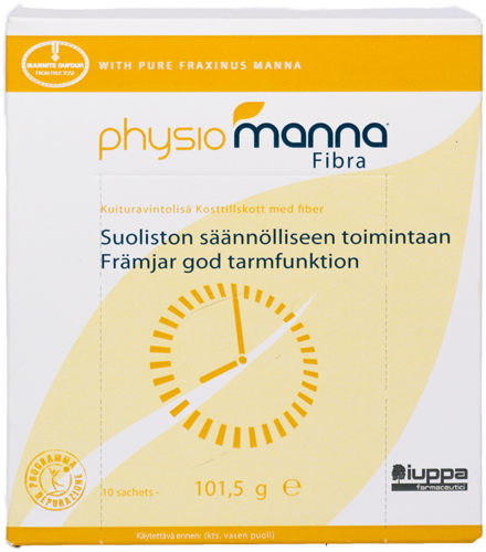 Physiomanna Fibra 10 x 10,15 g