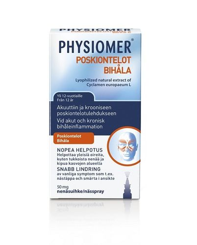 Physiomer Poskiontelot 50 mg