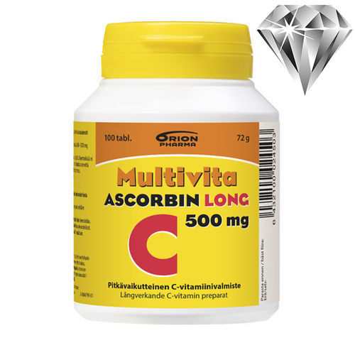 Multivita Ascorbin Long 500 mg *
