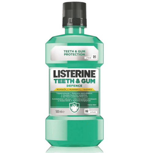 Listerine Teeth & Gum Defence suuvesi 500ml