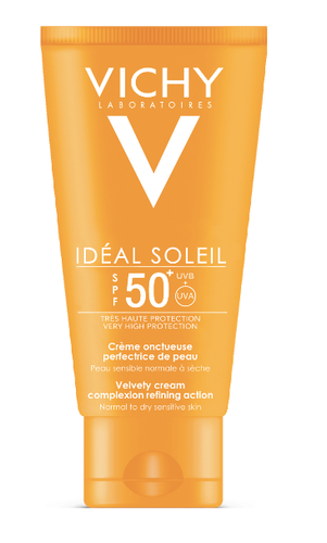 Vichy Ideal Soleil aurinkosuojavoide kasvoille SPF50+ 50 ml