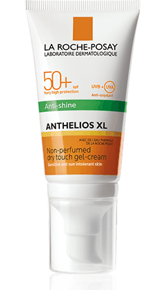 La Roche-Posay Anthelios Dry Touch Anti-shine aurinkosuojavoide kasvoille SK50+ 50 ml