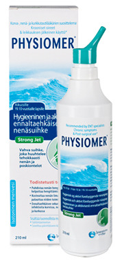 Physiomer Strong Jet nenäsuihke 210 ml