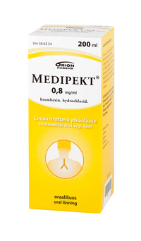 MEDIPEKT 0,8 mg/ml oraaliliuos 200 ml