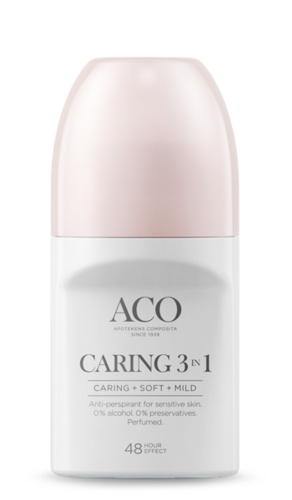 ACO Caring 3in1 48 h antiperspirantti 50 ml
