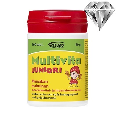Multivita Juniori mansikka *