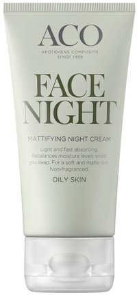 ACO Mattifying Night Cream - rasvoittunut iho 50 ml