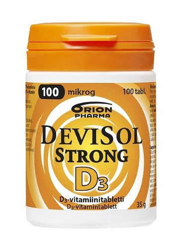 DeviSol Strong 100 µg 100 tabl. *