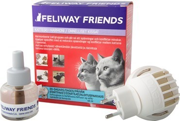 Feliway Friends haihdutin + liuos 48 ml