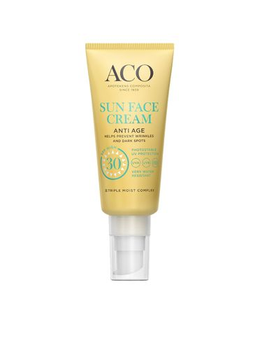 ACO Sun Face Cream Anti Age SK30 40 ml