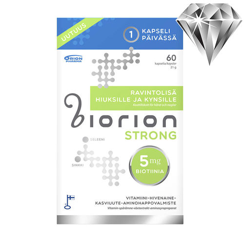 Biorion Strong 5 mg 60 kapselia *