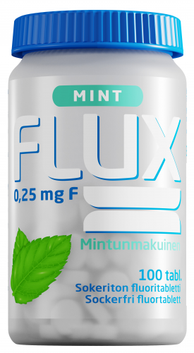 Flux Mint 0,25 mg fluoritabletti