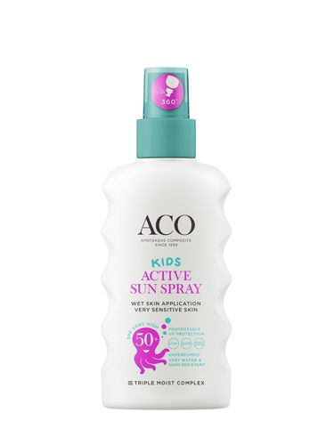 ACO Kids Active Sun Spray SPF 50+ 175 ml