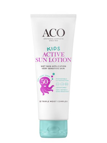 ACO Kids Active Sun Lotion SPF 50+ 125 ml