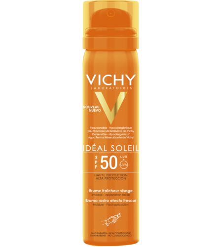 Vichy Ideal Soleil Fresh Face Mist SK 50 aurinkosuojasuihke 75 ml