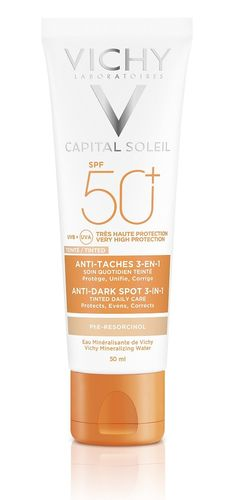 Vichy Capital Soleil 3-in-1 Anti Dark Spots aurinkosuojavoide SK50+ 50 ml