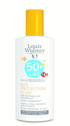 Louis Widmer Kids Sun Protection Fluid SK50+ 100 ml