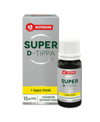 Bioteekin Super D-tippa 8 ml