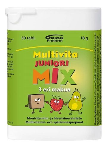 Multivita Junior MIX