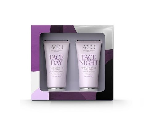 ACO Face Anti Age Day & Night Cream -lahjapakkaus