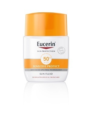 Eucerin Sensitive Protect Sun Fluid SPF 50+ 50 ml