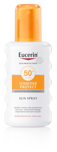 Eucerin Sensitive Protect Sun Spray SPF 50+, 200 ml