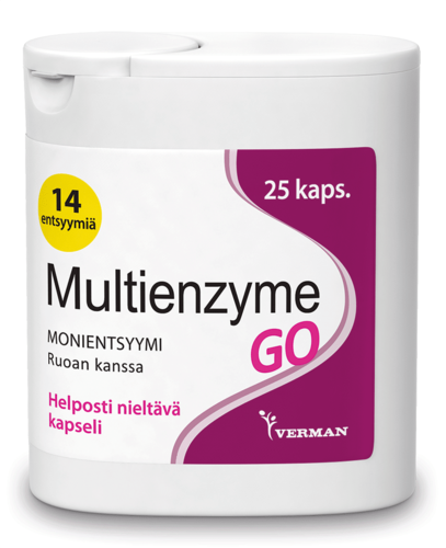 Multienzyme GO 25 kaps.