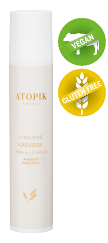 Atopik Sensitive Käsivoide 50 ml
