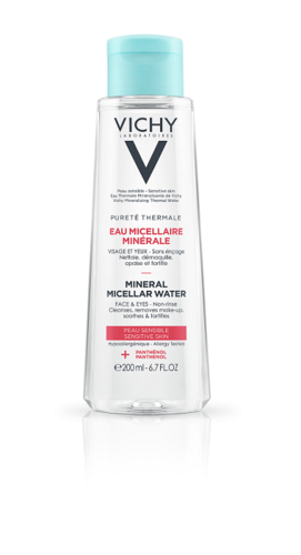 Vichy Pureté Thermale Mineral Micellar Water 200 ml