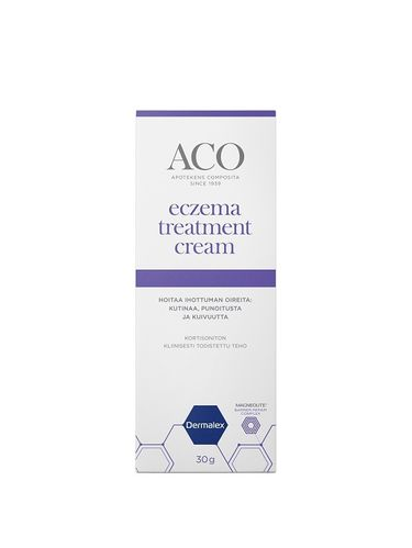 ACO Dermalex Eczema Treatment Cream 30 g