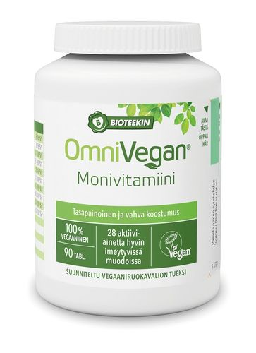 OmniVegan Monivitamiini 90 tabl.