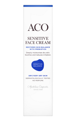 ACO Sensitive Face Cream 50 ml