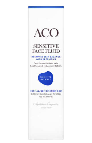 ACO Sensitive Face Fluid 50 ml